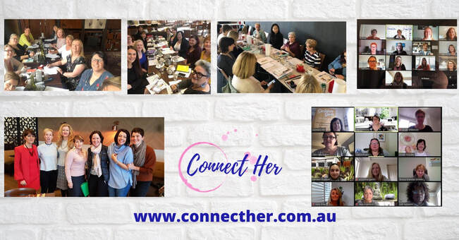 Connect Her Online event